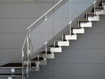 Balustrades-Black-And-Chrome-Staircase