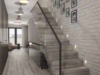 Balustrades-White-Wooden-Staircase